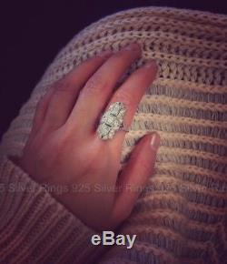 Edwardian 1910's Antique 2 Ct Round Cut Diamond Engagement Vintage Art Deco Ring
